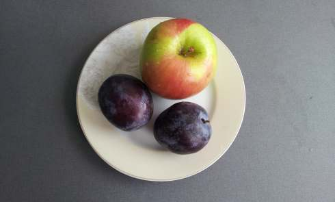 apple and plum
